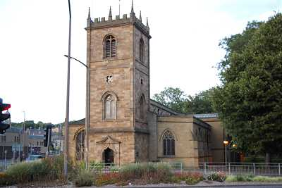Dewsbury Minster The Tower, West Side Pic 1912