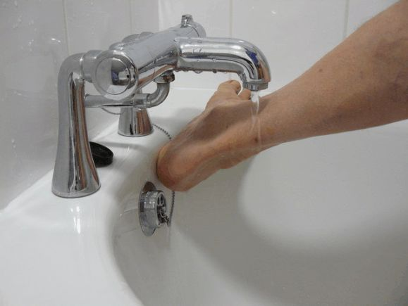 Bath Taps treatment